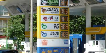 Цены на бензин в 2017