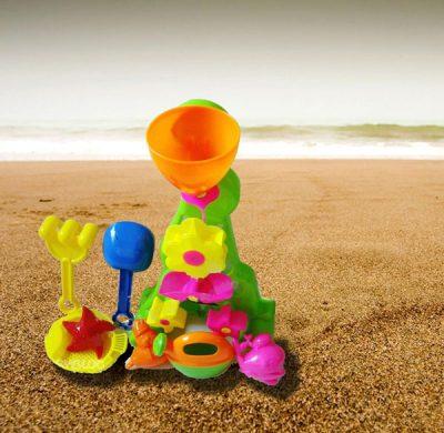 Игрушки на песке