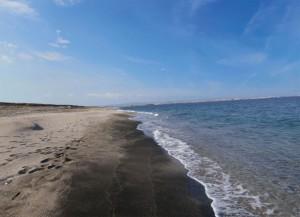 Пляжная полоса Помория с уникальным песком