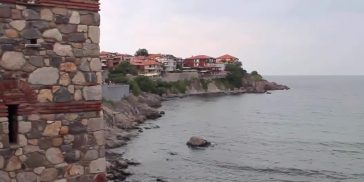 Созополь. Вид с берега.