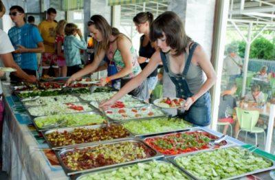 Питание в детских лагерях