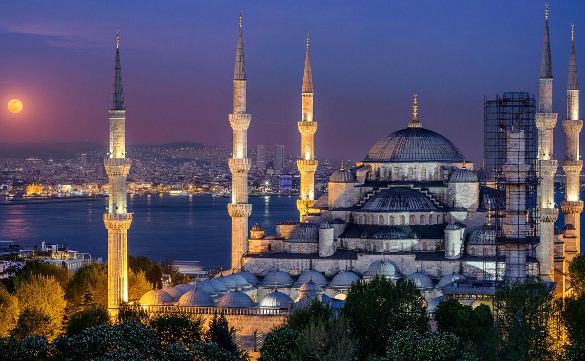 Голубая Мечеть. Турция