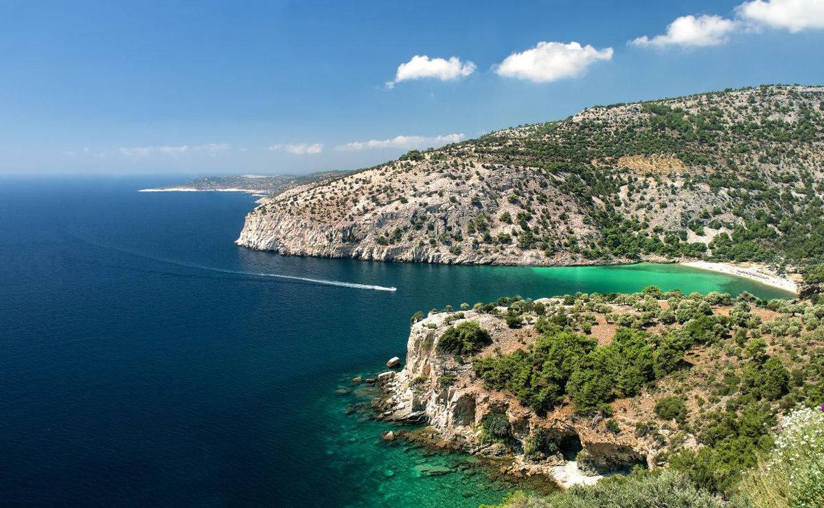Остров Тасос. Греция