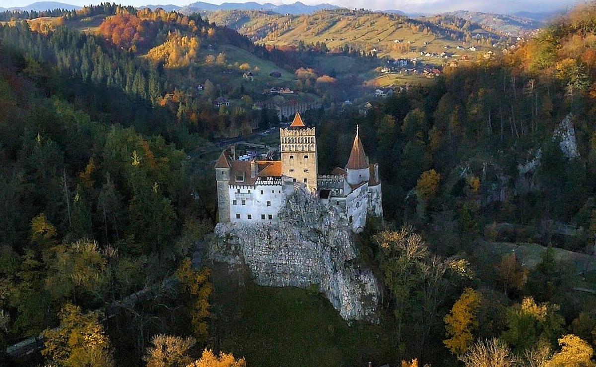 Замок Дракулы. Румыния.