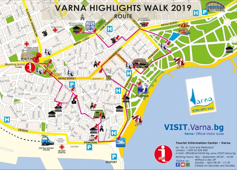 Бесплатный экскурсионный маршрут по Варне