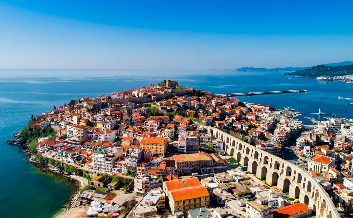 Старый город Кавала Греция