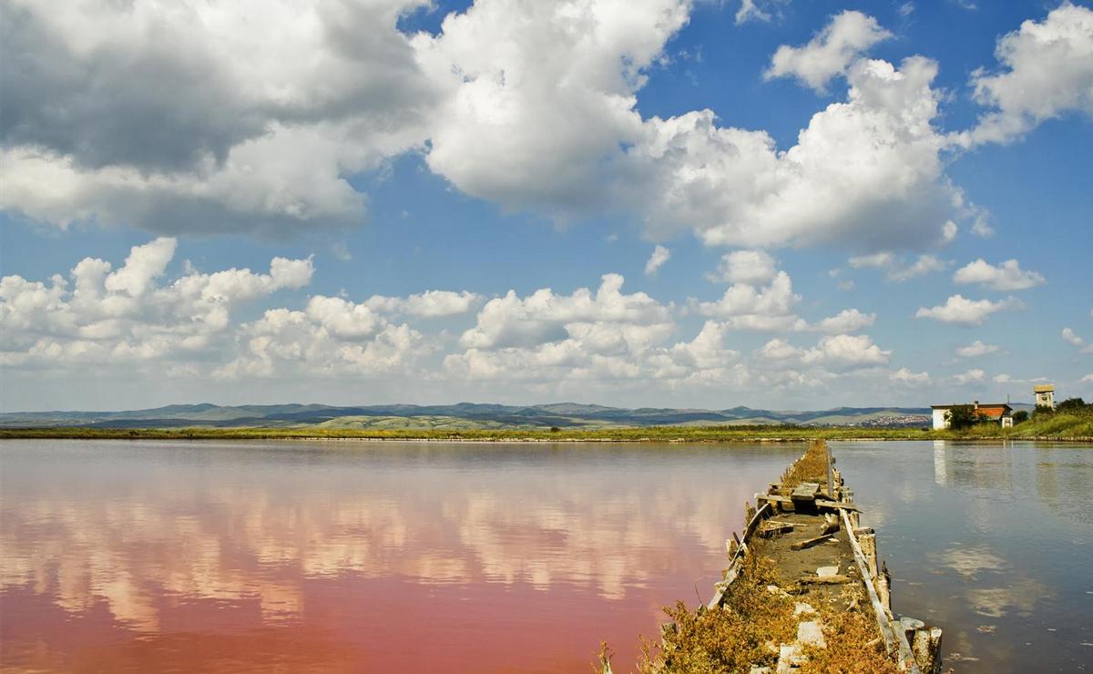 Экскурсии Бургаса. Атанасовское озеро.