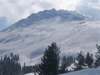 Гора Витоша зимой