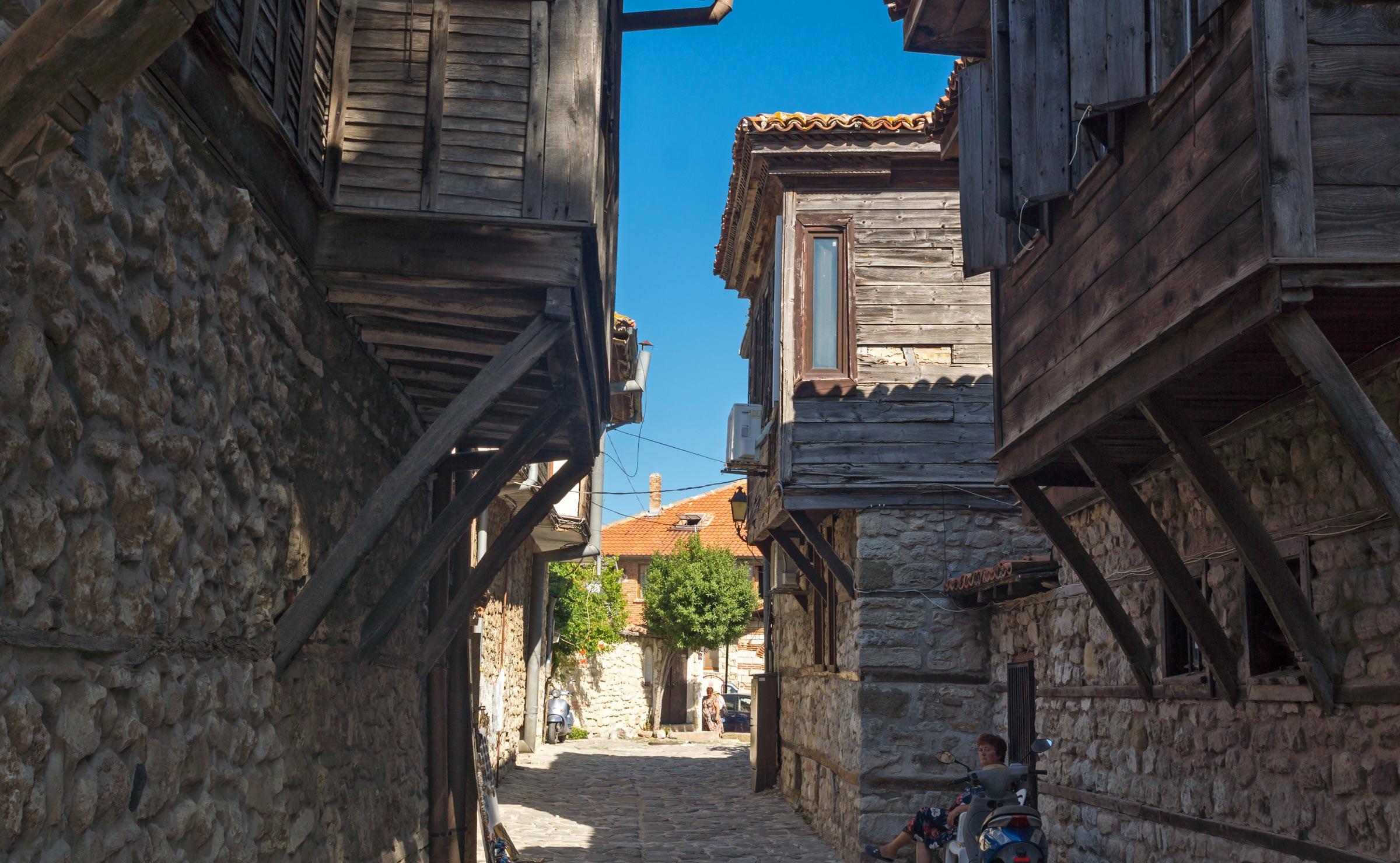 Улицы старого Несебра