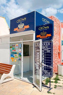 Обменный пункт Crown