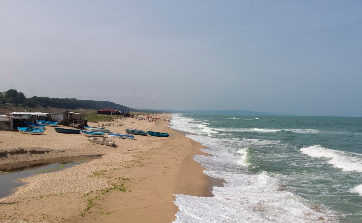 Пляж села Шкорпиловци