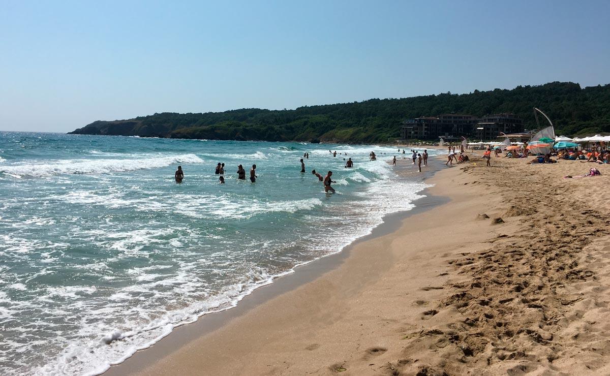 Пляж Смокиня