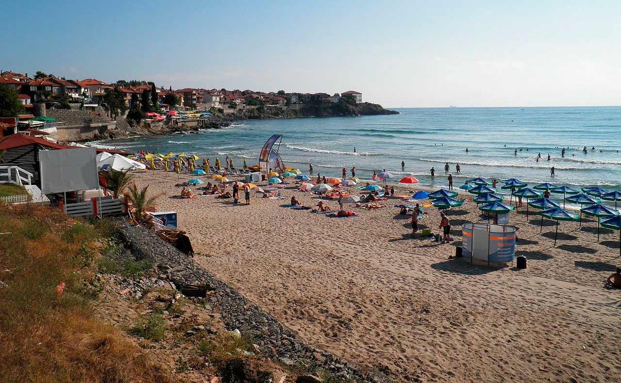 Пляж Созополь