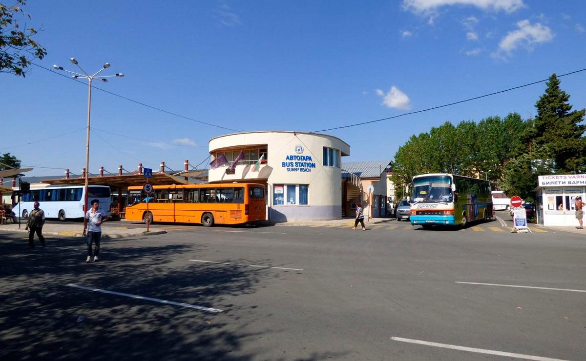 Автобусная станция (автогара)