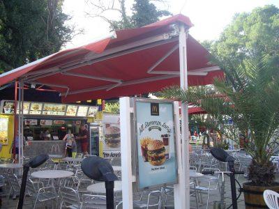 Макдоналдс на набережной Солнечного Берега