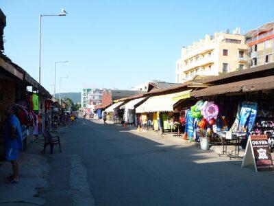 Вещевой рынок Солнечного Берега